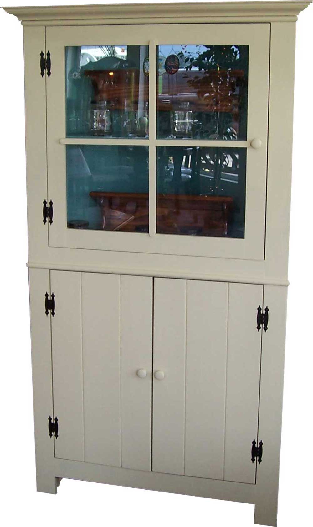 Corner Curio Cabinet For Elegant Home Office