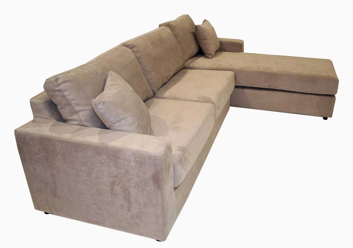 Comfortable Microfiber Sectional Sofas