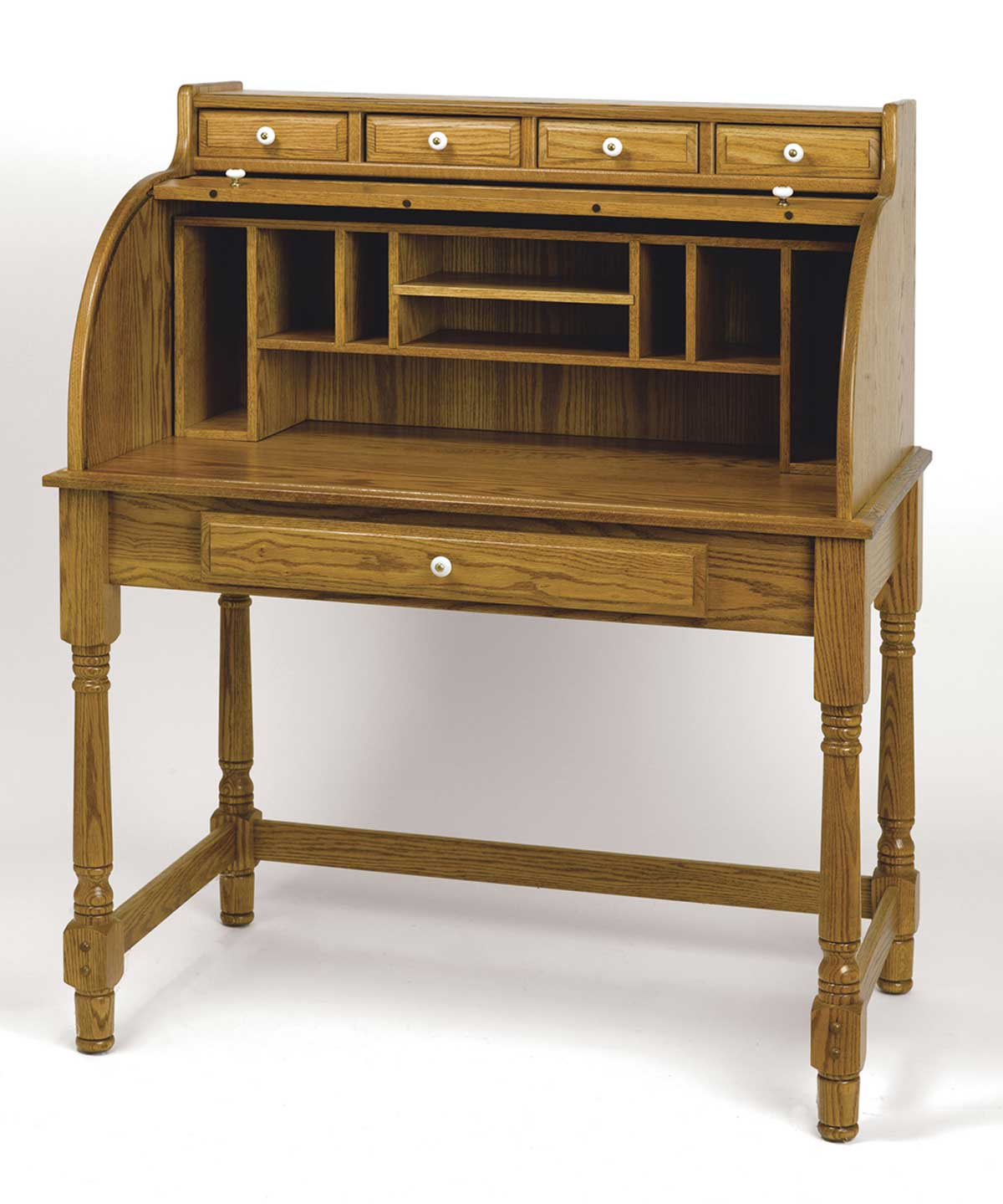 Oak Roll Top Desk Home Office Buying Tips