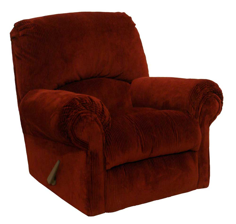 Gambler berry adjustable velvet swivel glider