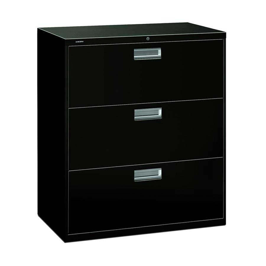 HON 600 Series Three Drawers Lateral Filing Cabinet