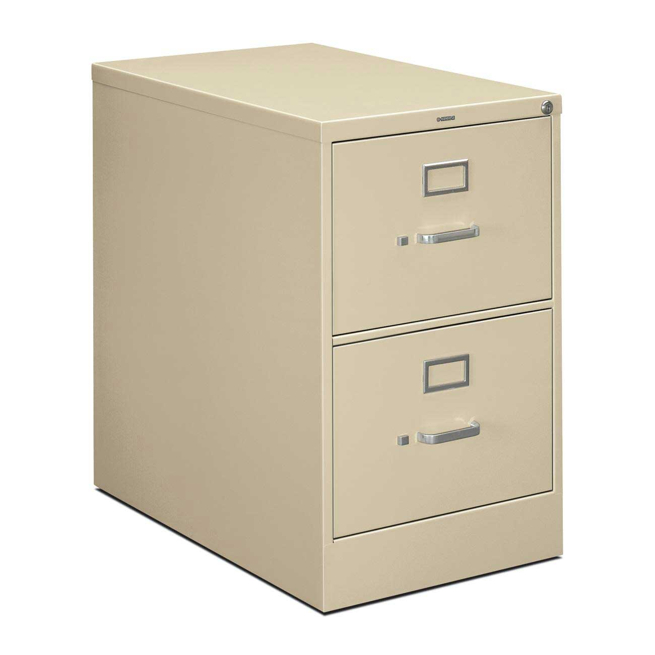 HON Locking Vertical Metal Filing Cabinet