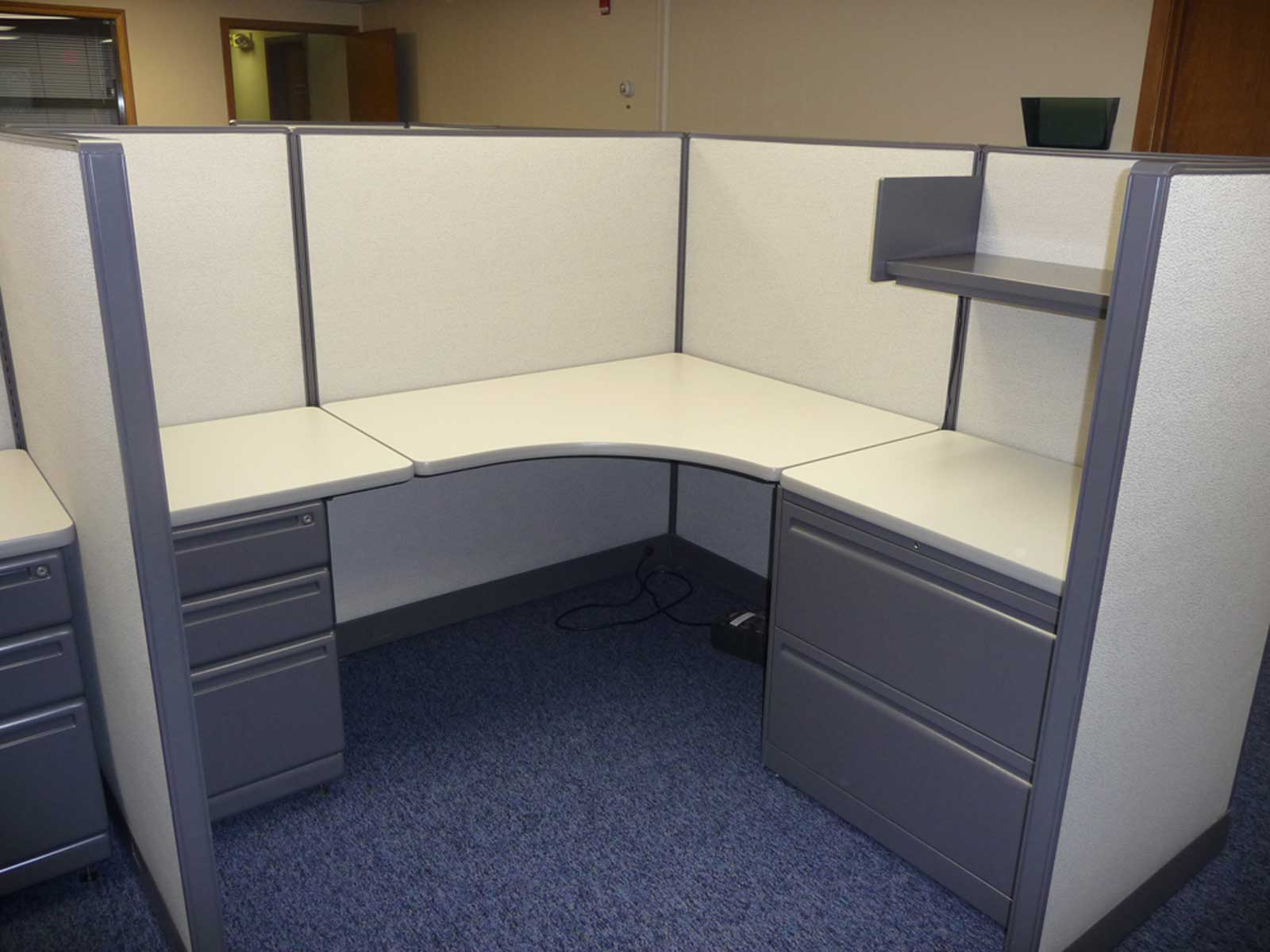 Haworth remanufactured laminate office cubicles