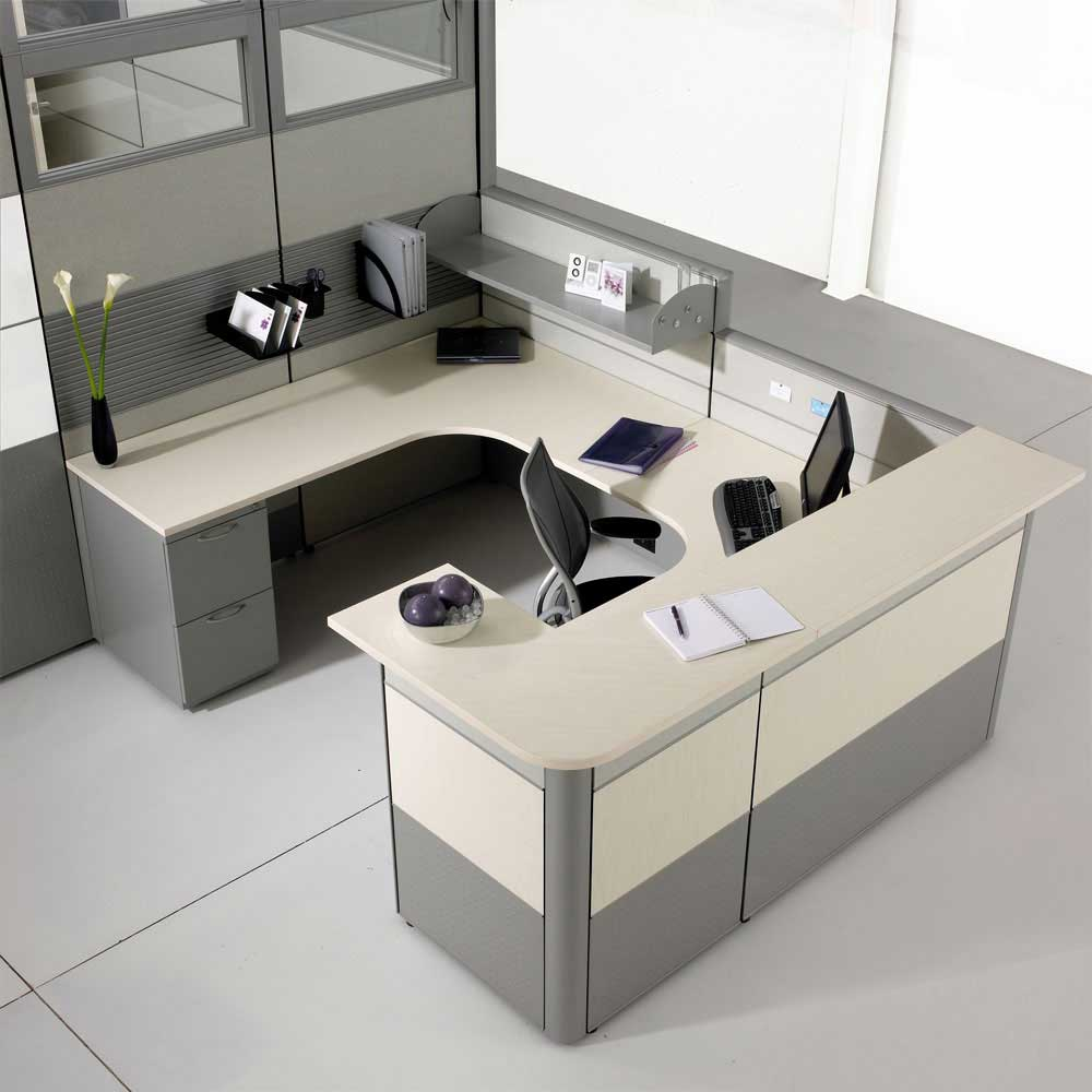Modern office desk design office furniture for Office furniture designs photos