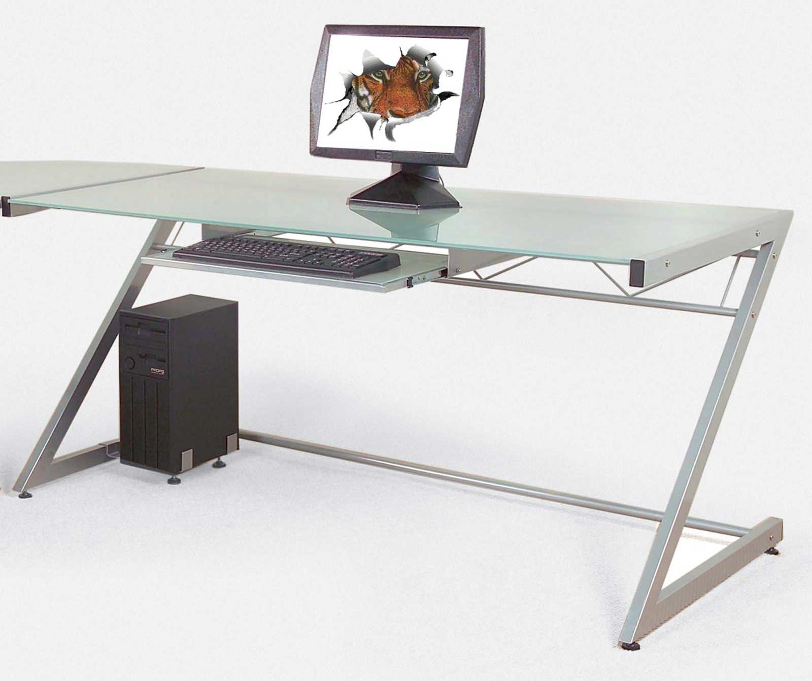 Ital Z Large Contemporary Computer Desks