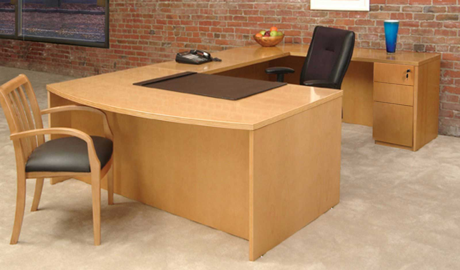 Discount quality office furniture online for Wooden home furnichers