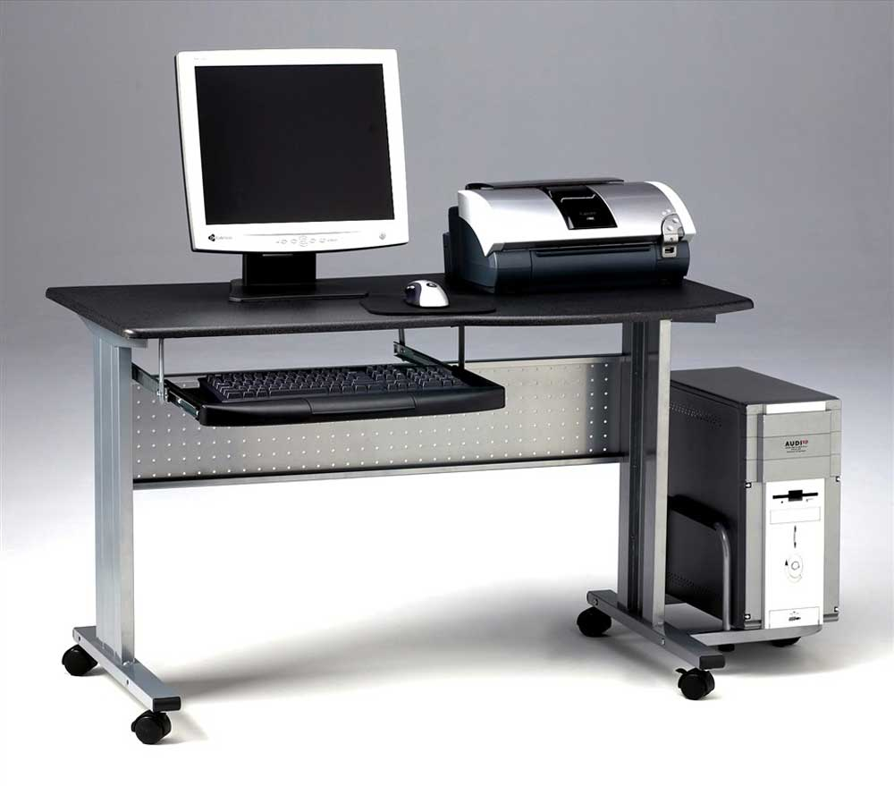 Mobile computer desk for home best gallery - Mobile office desk ...