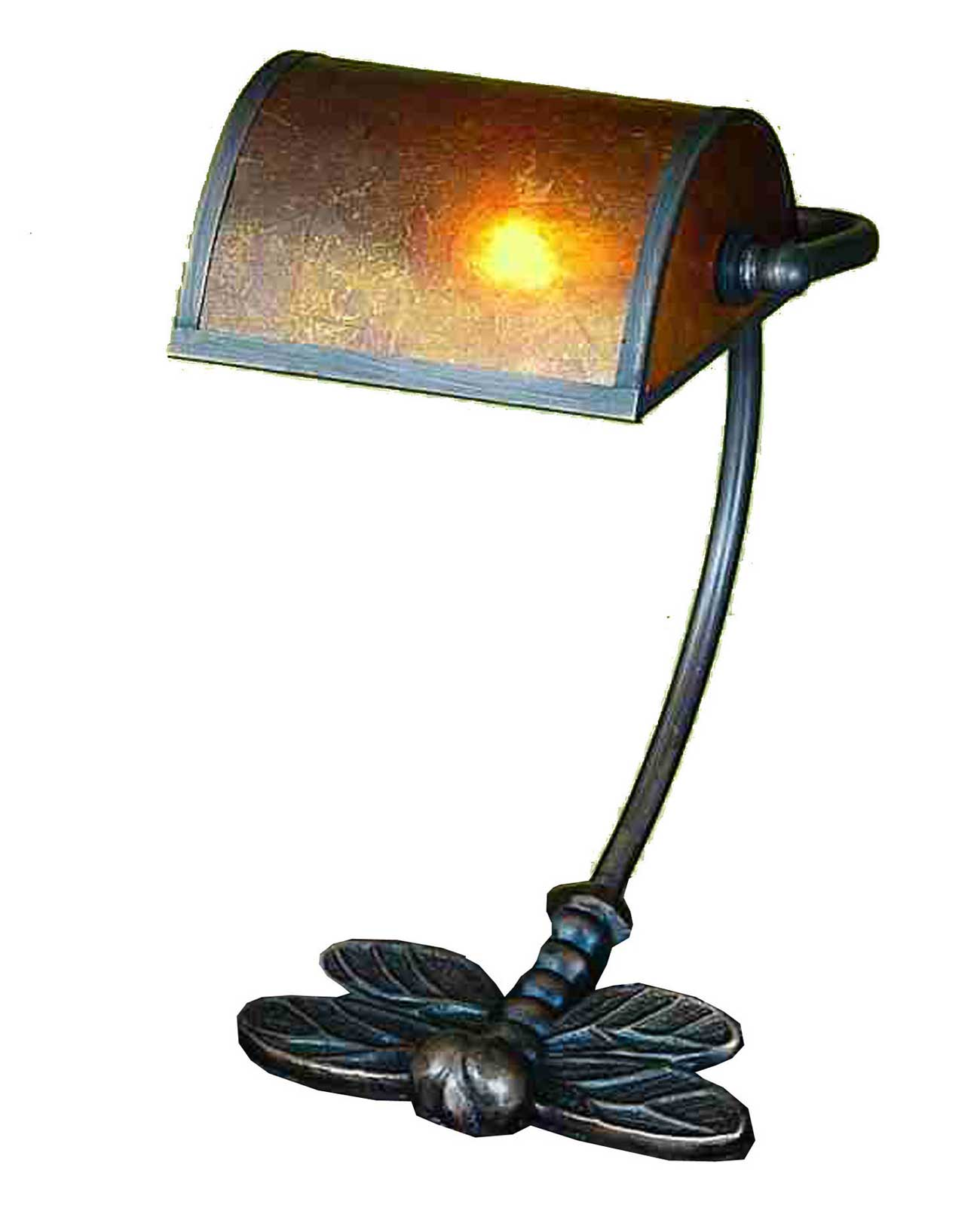 Meyda Tiffany Traditional Bankers Table Lamp