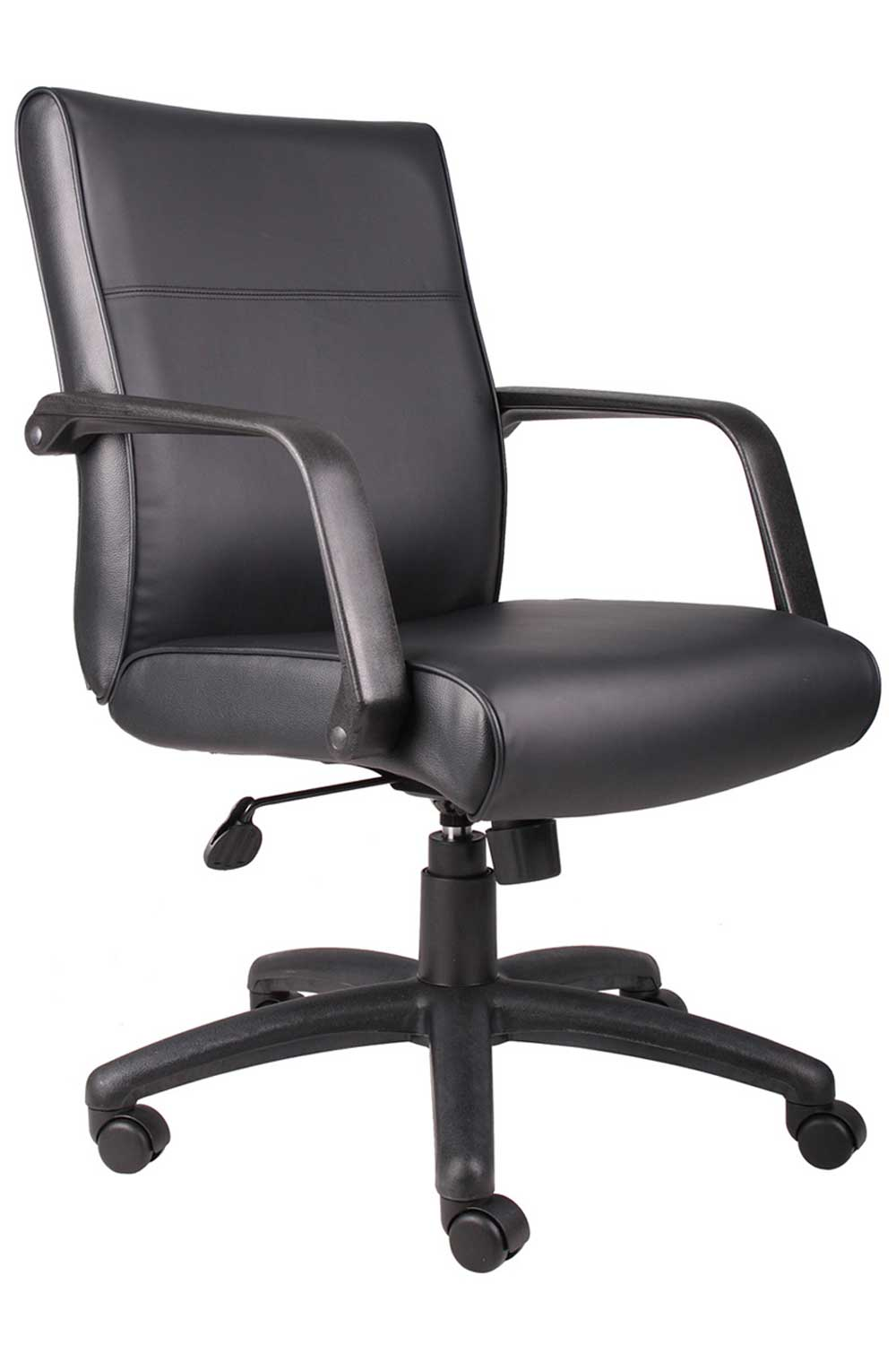 Madison swivel office chair office furniture for Home office chairs leather