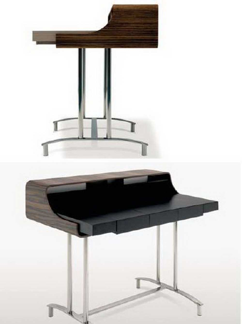 Minimalist and modern office computer desk