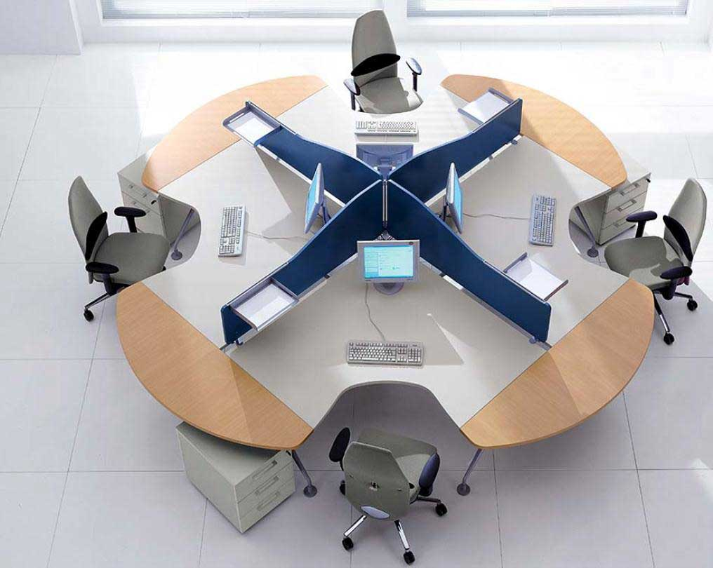 Modern office furniture office furniture for Simple office furniture design