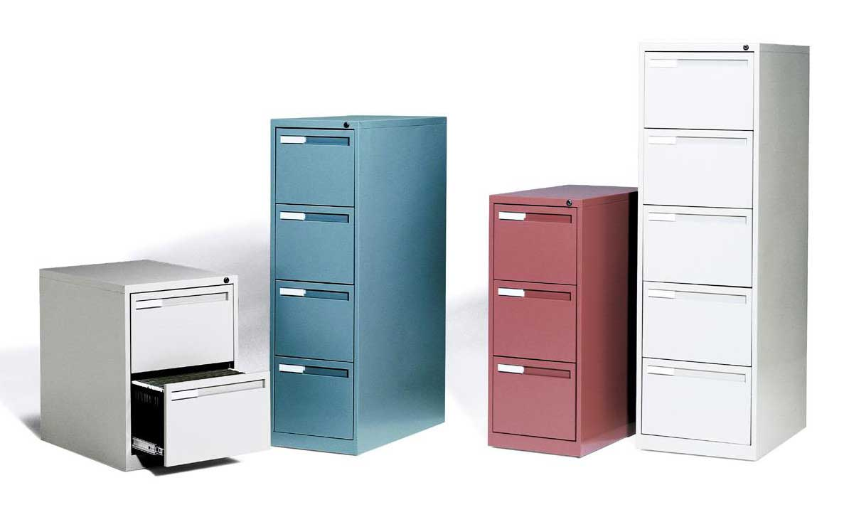 Multi Drawer Vertical Filing Cabinets Collection