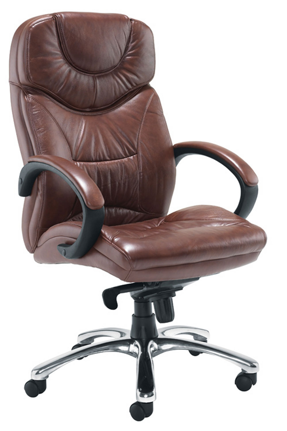Nevada Brown executive Leather office chairs