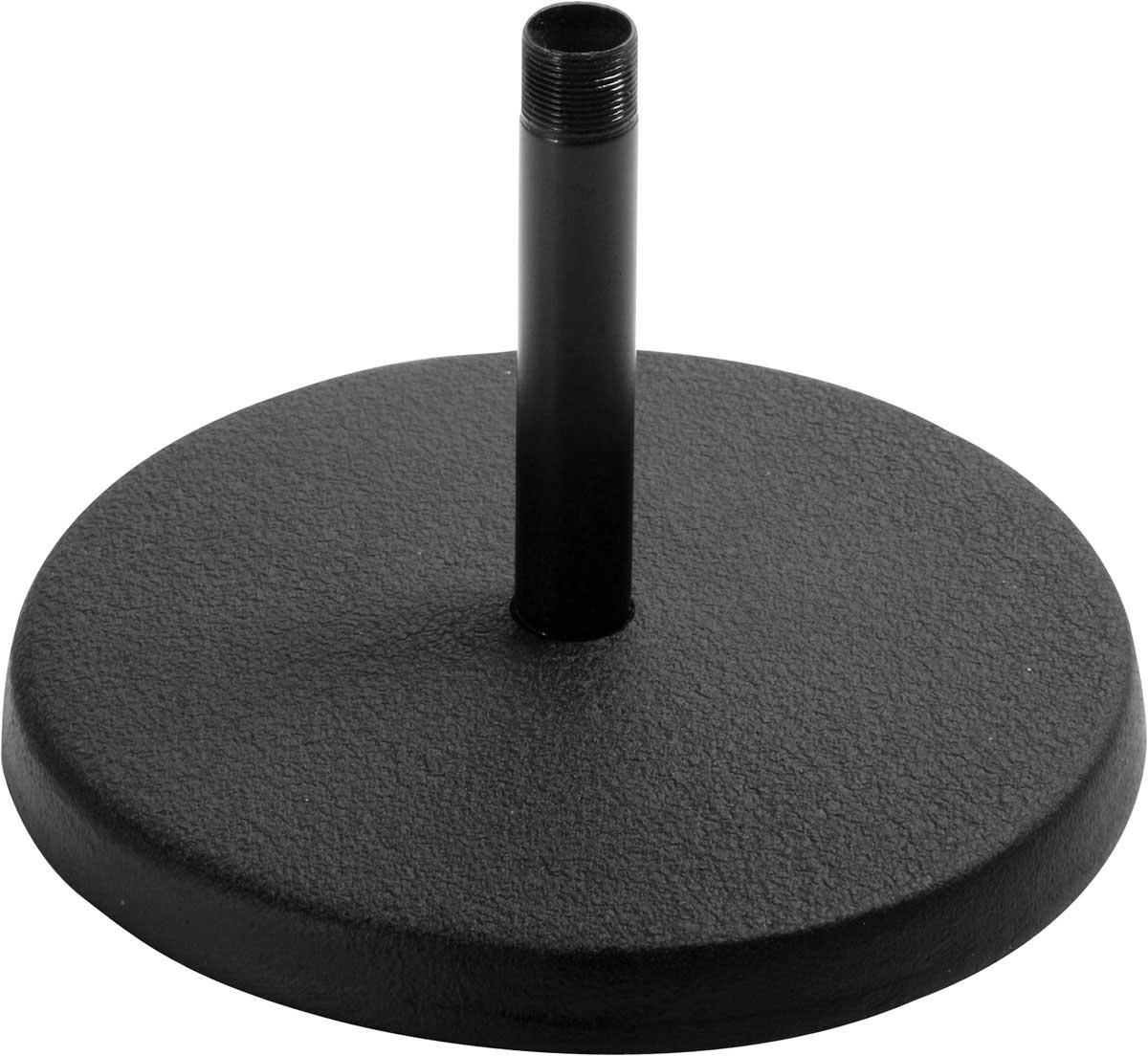 On-Stage DS7100B Black Microphone Desktop Stand