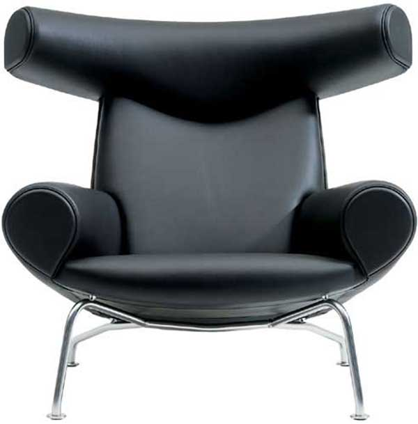 Ox executive luxury black leather office chairs