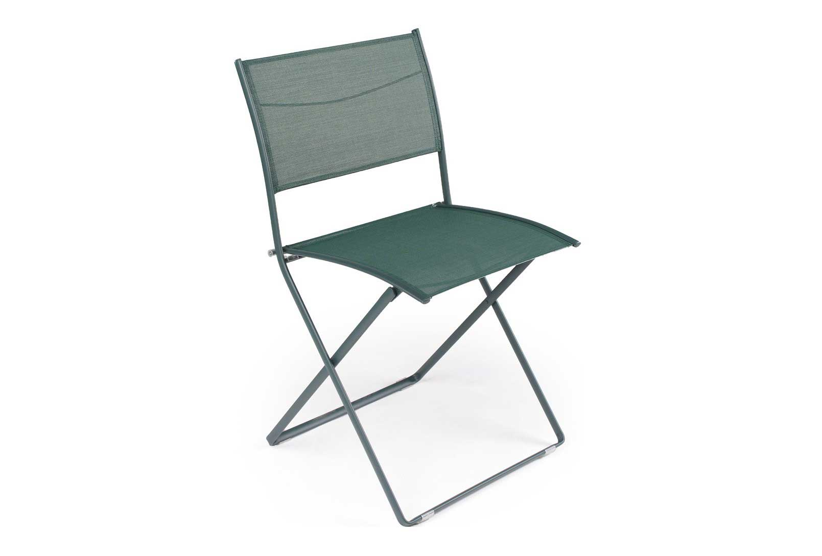 Plein Air Patio Mesh Folding Chair