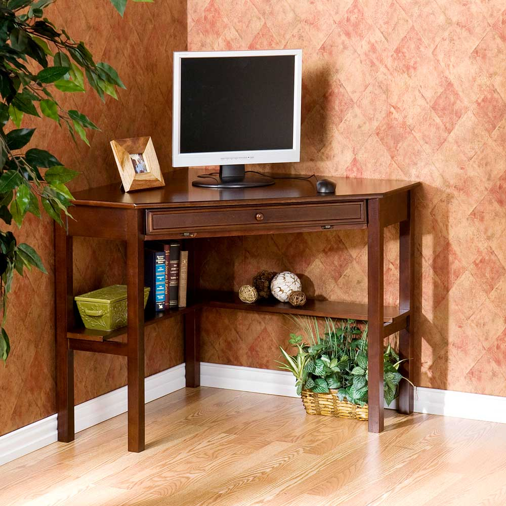 Wood small corner computer desk plans pdf plans - Corner office desk ...