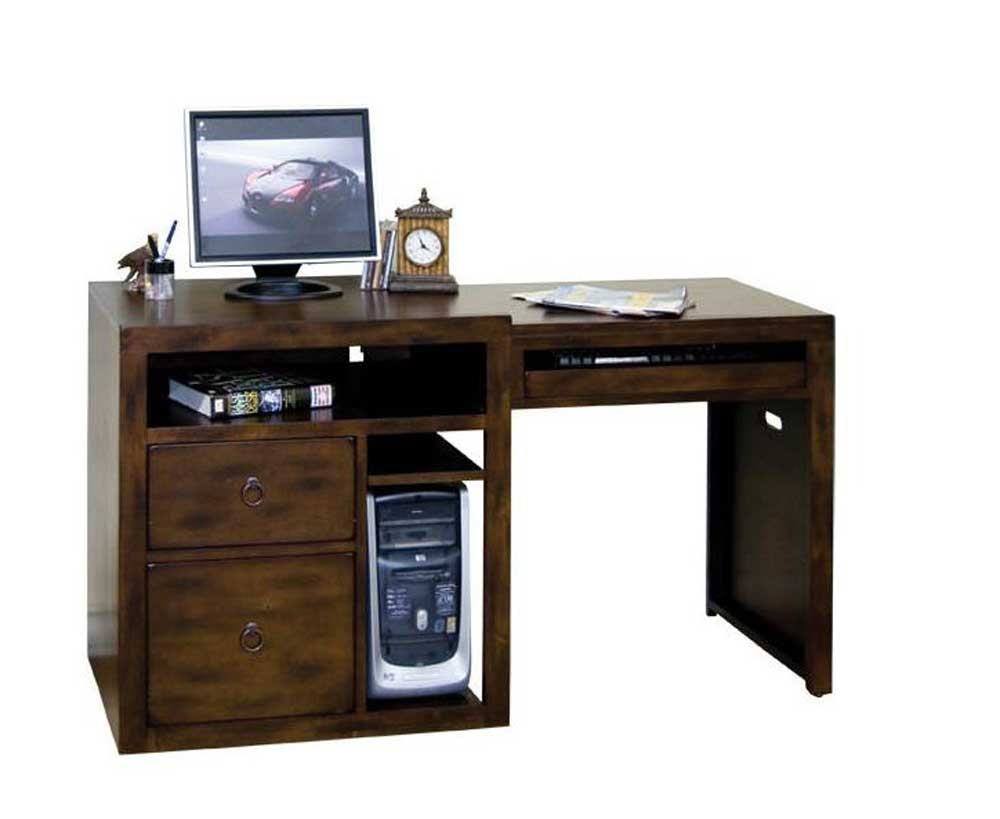 Santa Fe Solid Wood Expandable Home Office Computer Desk