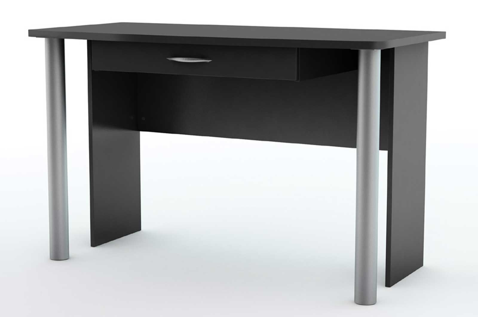 Solid Black Office Desks from South Shore City