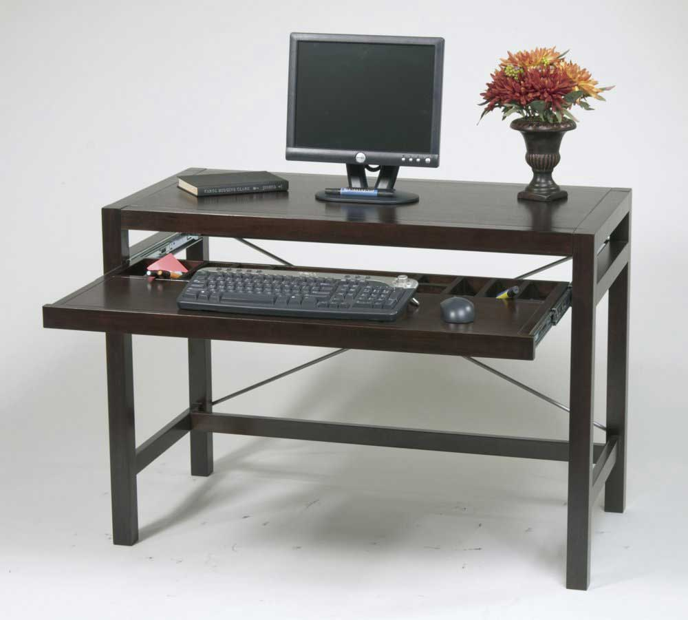 Wooden Computer Desk ~ Solid wood computer desk for home office