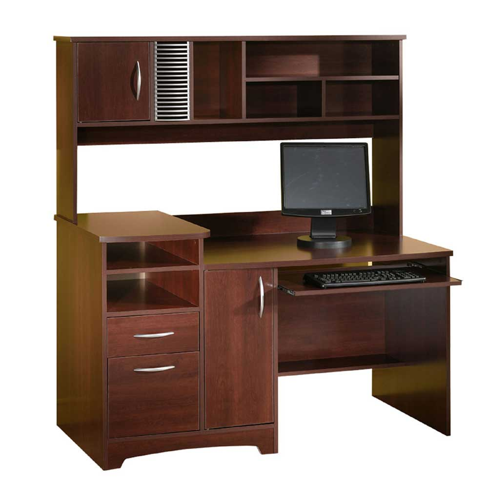 Squared Royal Solid Cherry Wood Workdesks