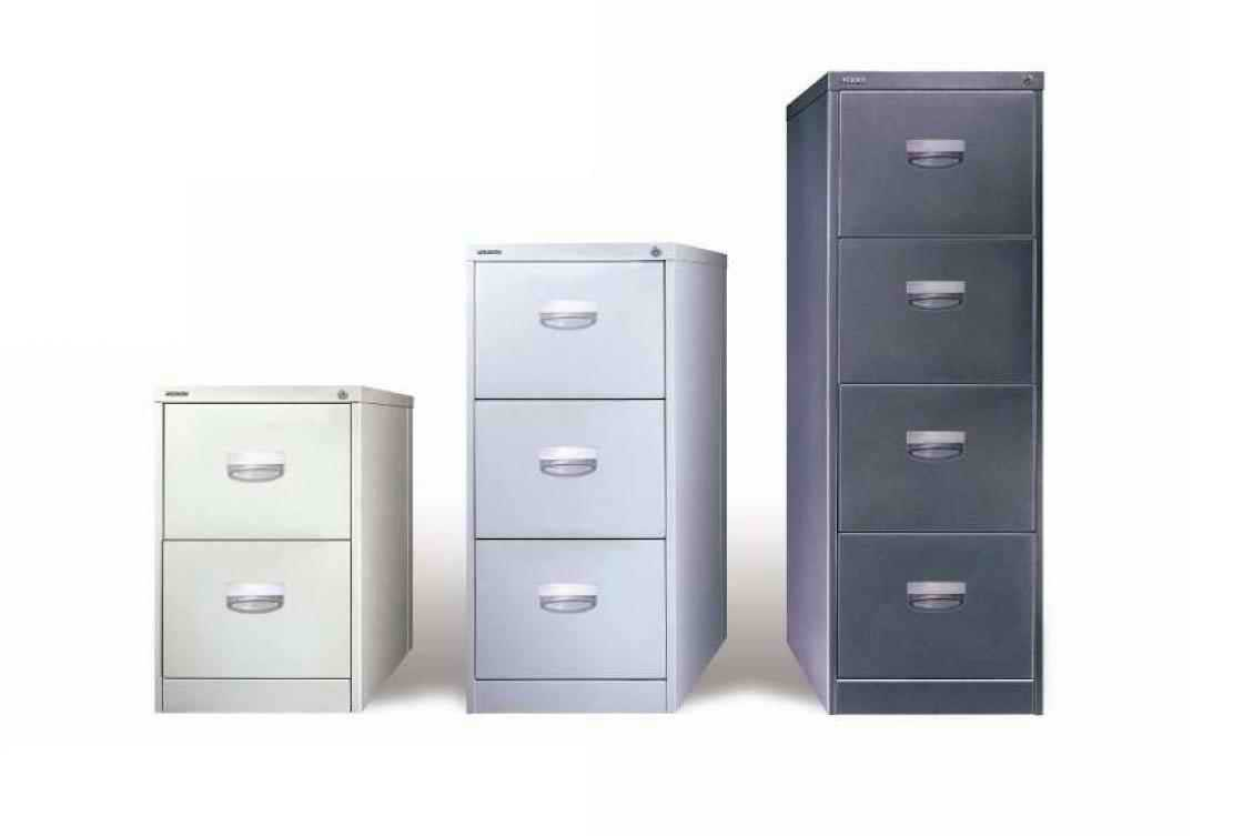 metal filing cabinet 2 drawers