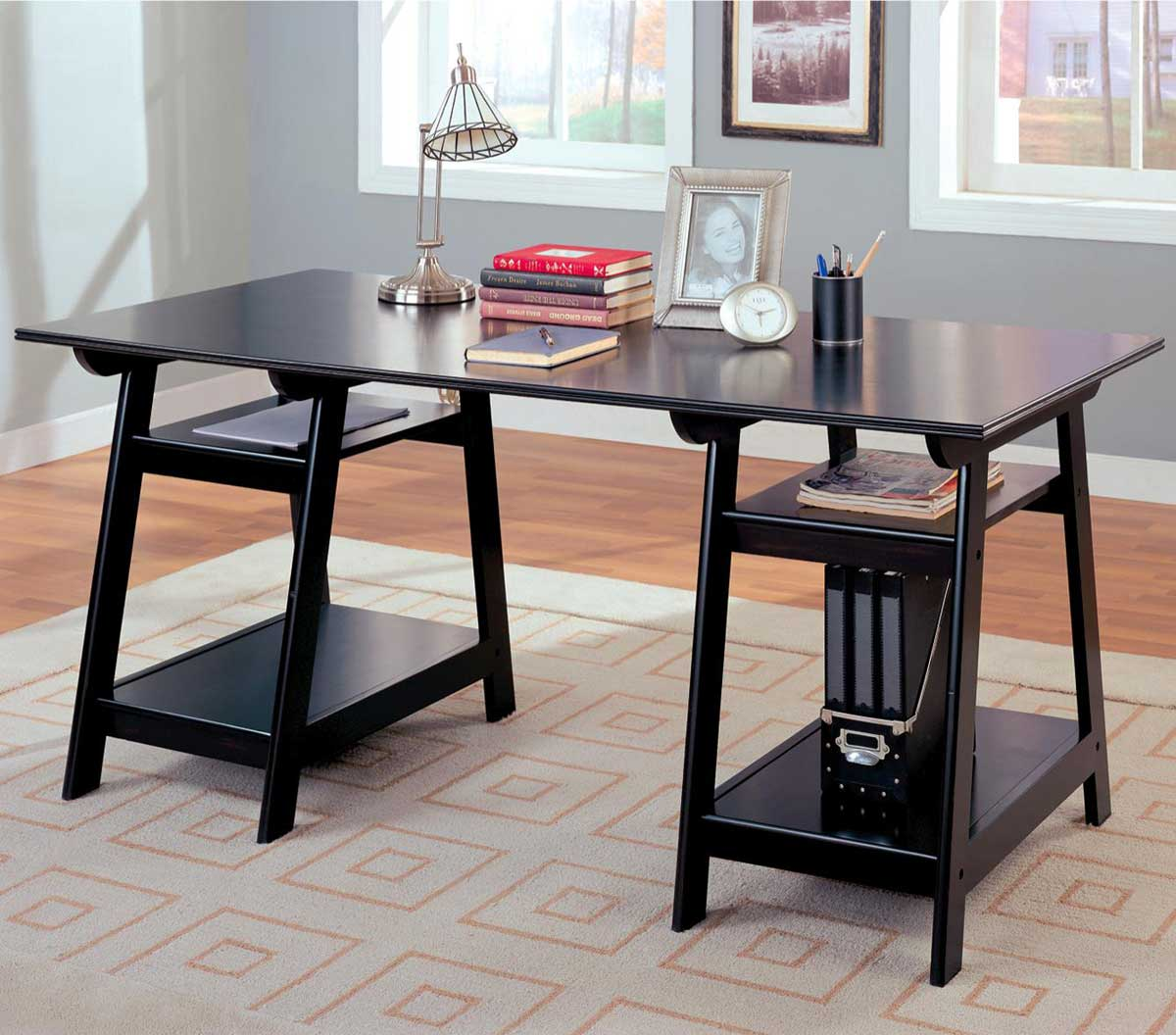 Glass office desk famous manufacturer reviews Home office desks