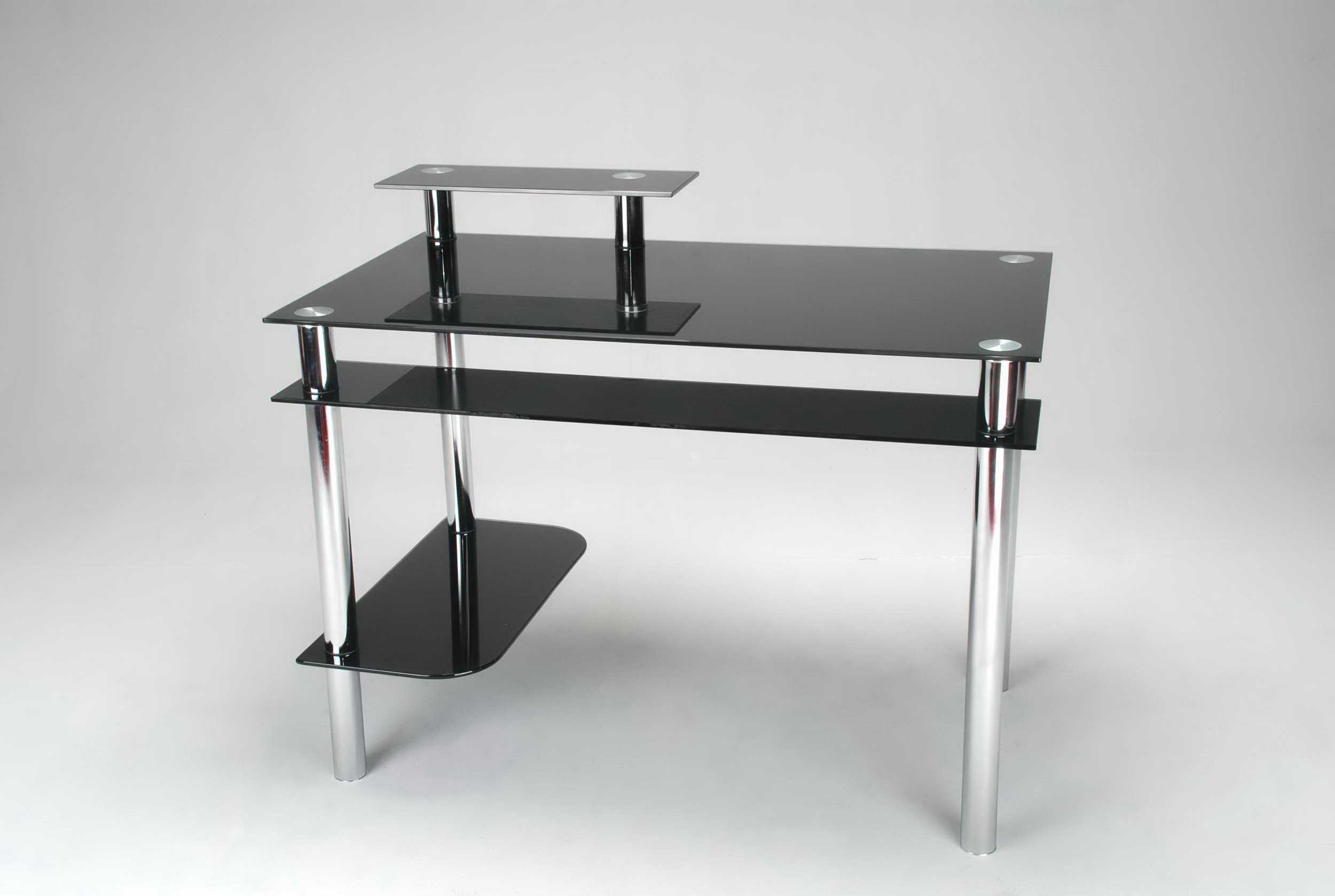 Black Glass Desk for Your Home Office | Office Furniture