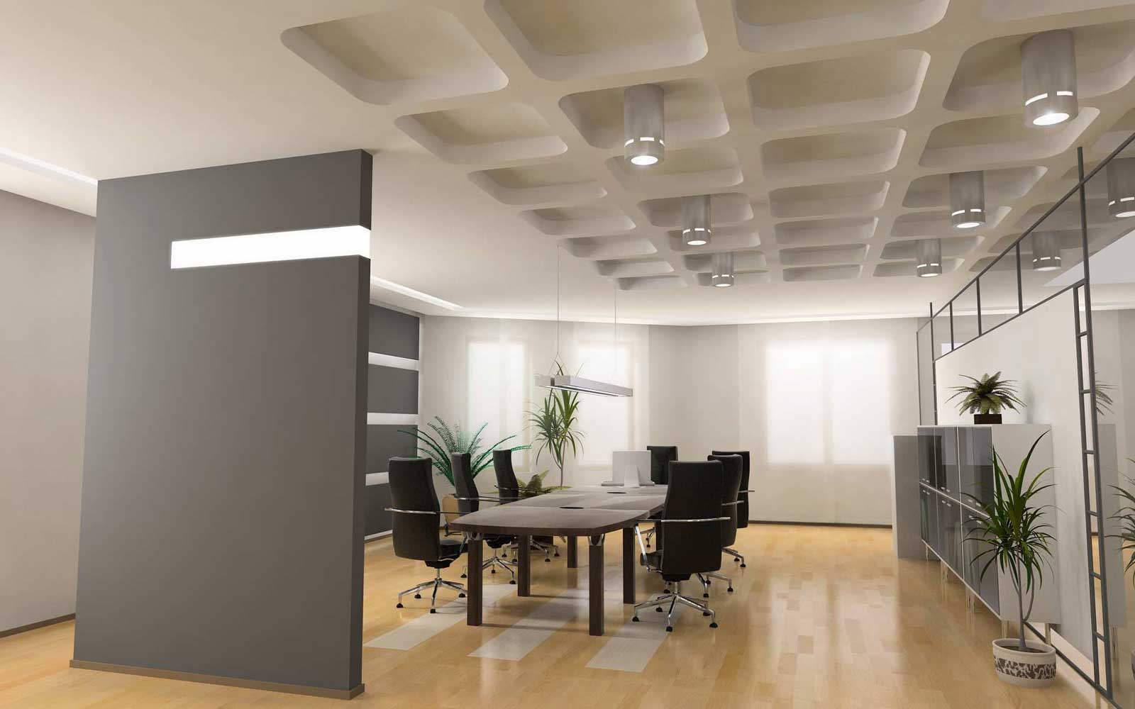 Small office decorating ideas office furniture for Small corporate office design