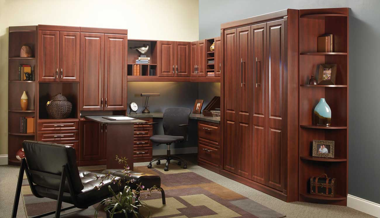 Nice Cozy Custom Home Office Furniture And Workstation