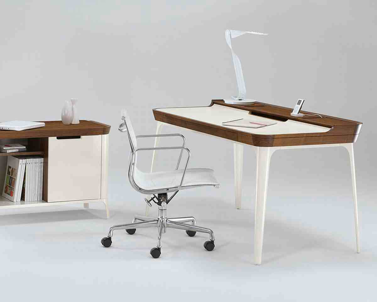 Stylish contemporary office furniture design for Modern desks for home office