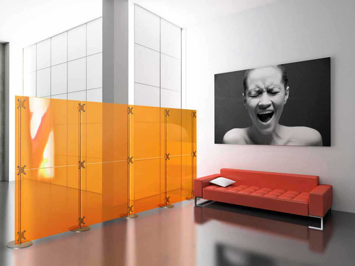 modern decorative room divider for office