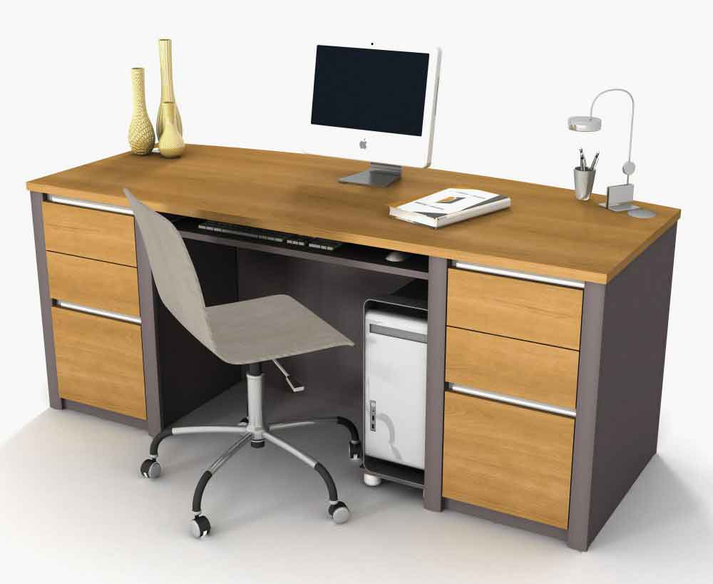 Computer desks office furniture for Modern furniture companies