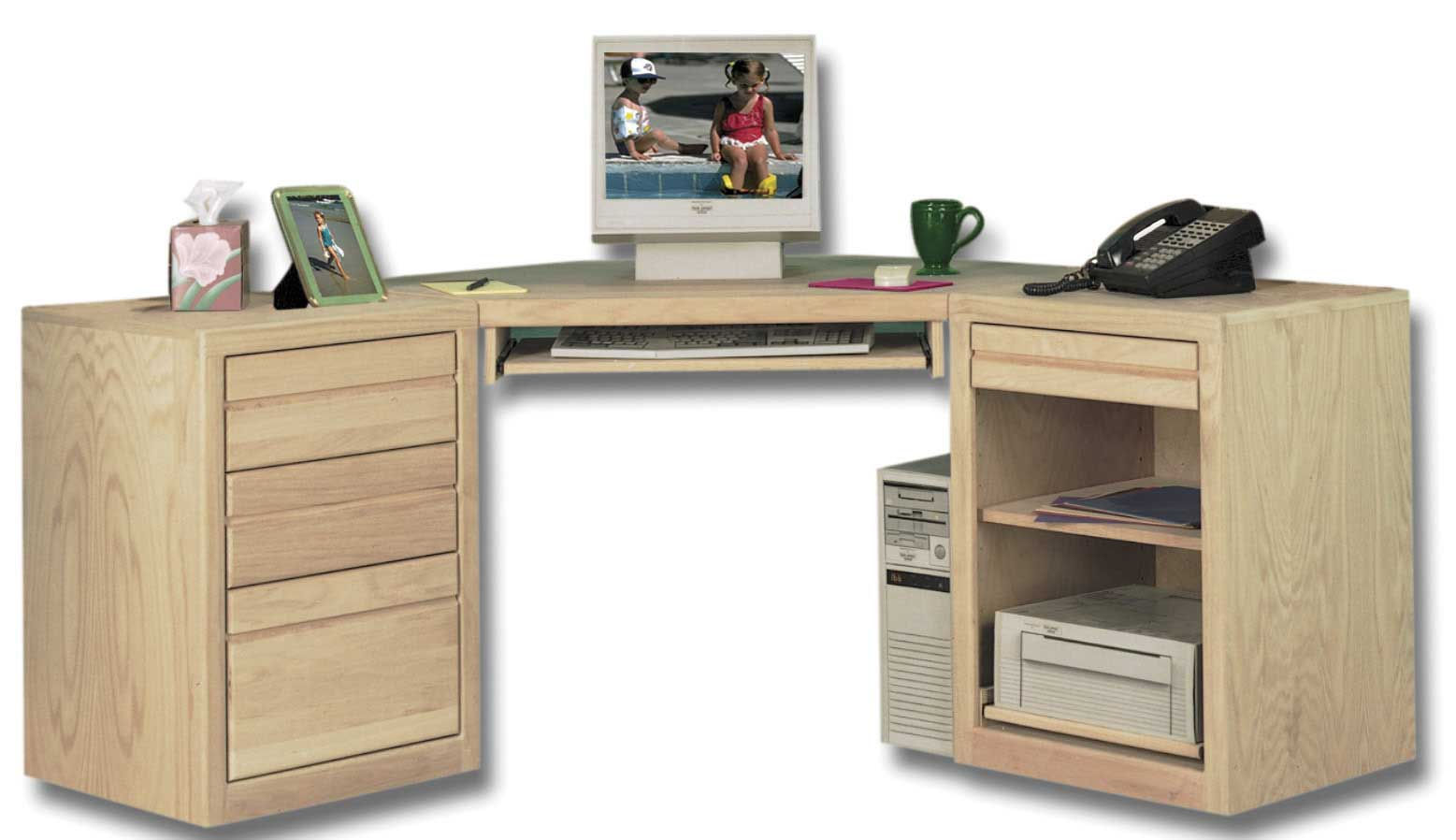 Unfinished Wood File Cabinets for Home Office