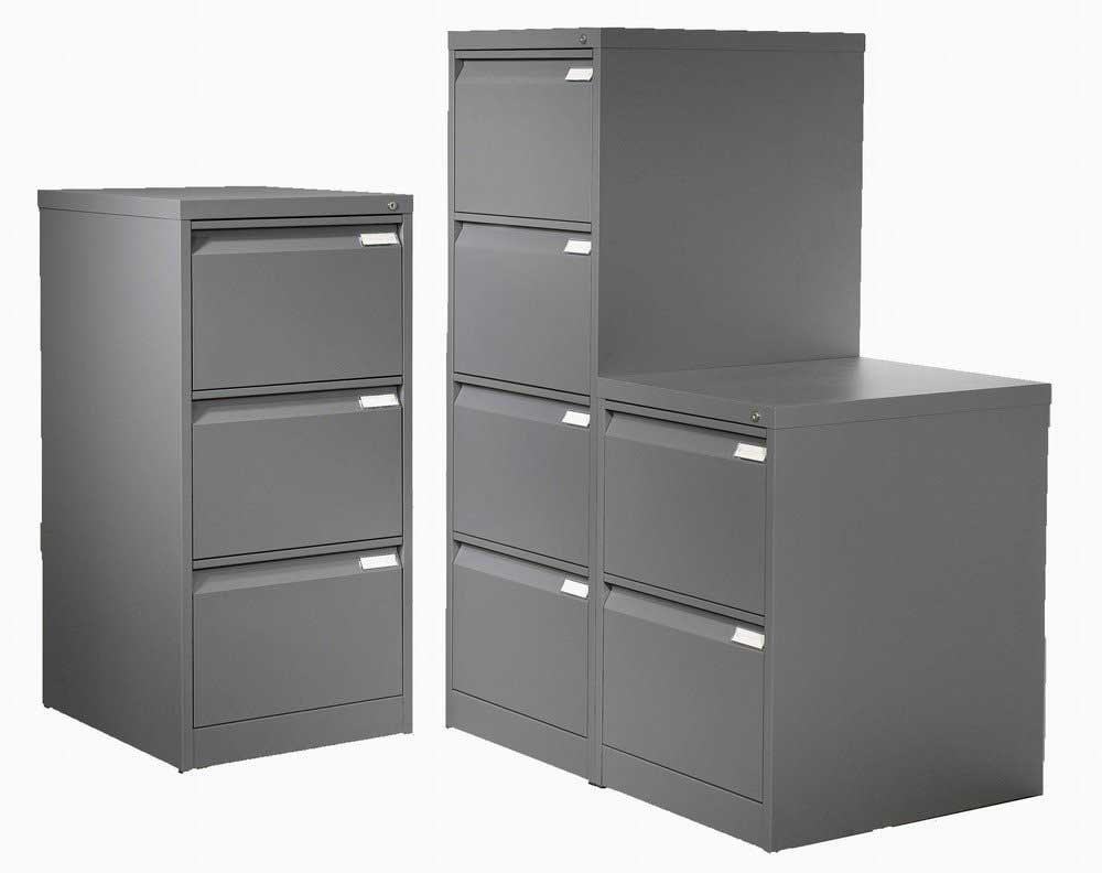 Black Metal Filing Cabinets Office Furniture