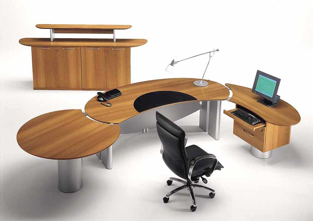 modular home office furniture collections that match