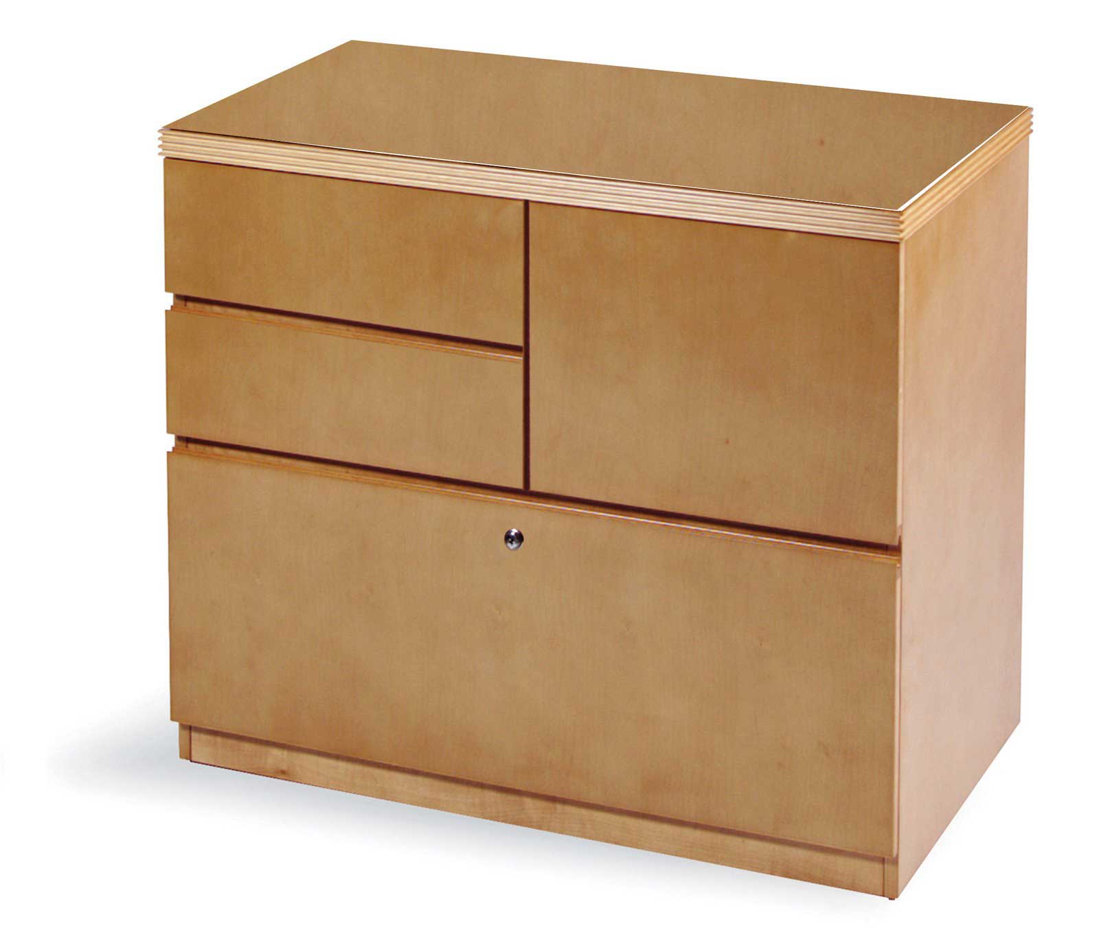 Wooden discount filing cabinet with lock for Inexpensive wood kitchen cabinets