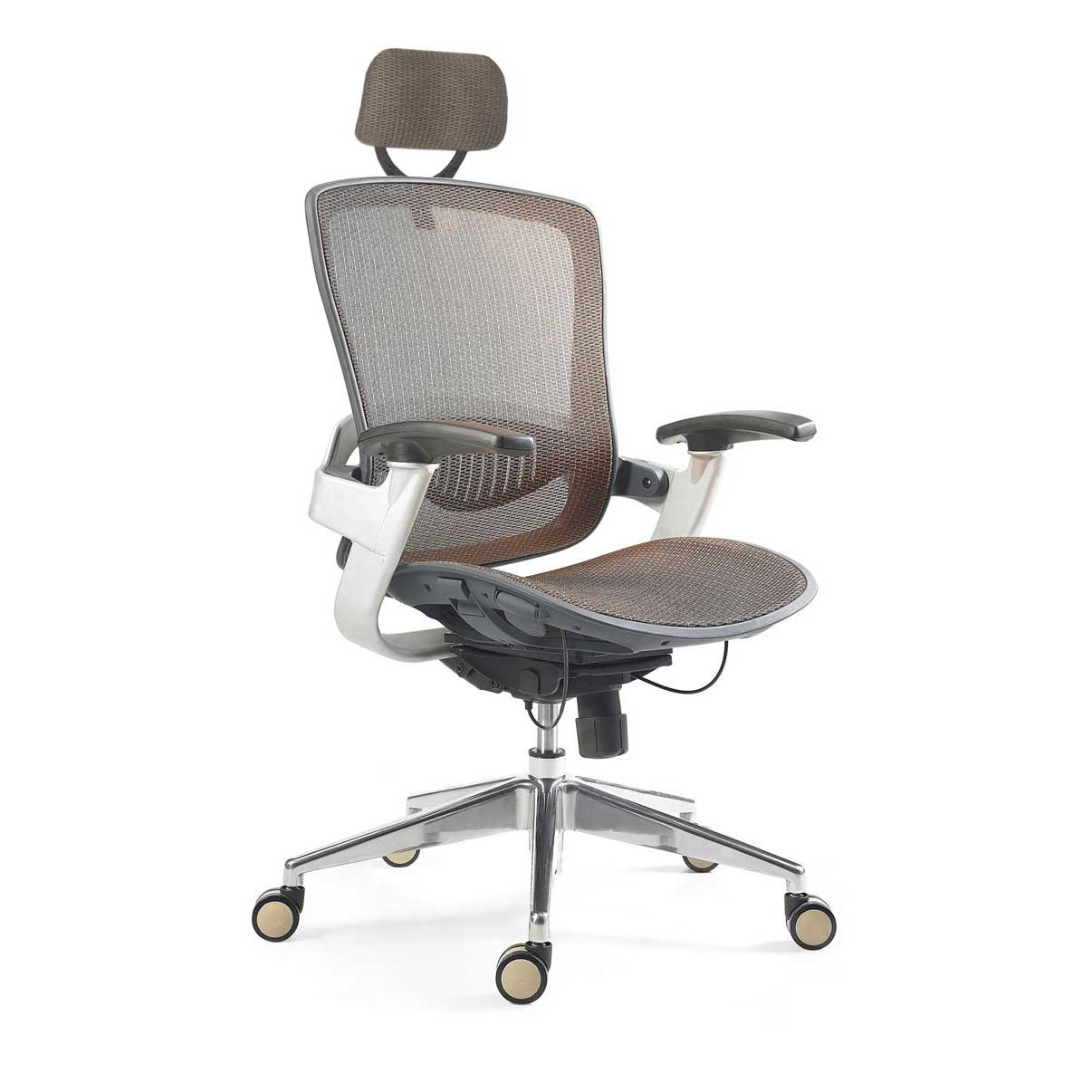 Mesh computer chairs for home office interior for Contemporary home office chairs