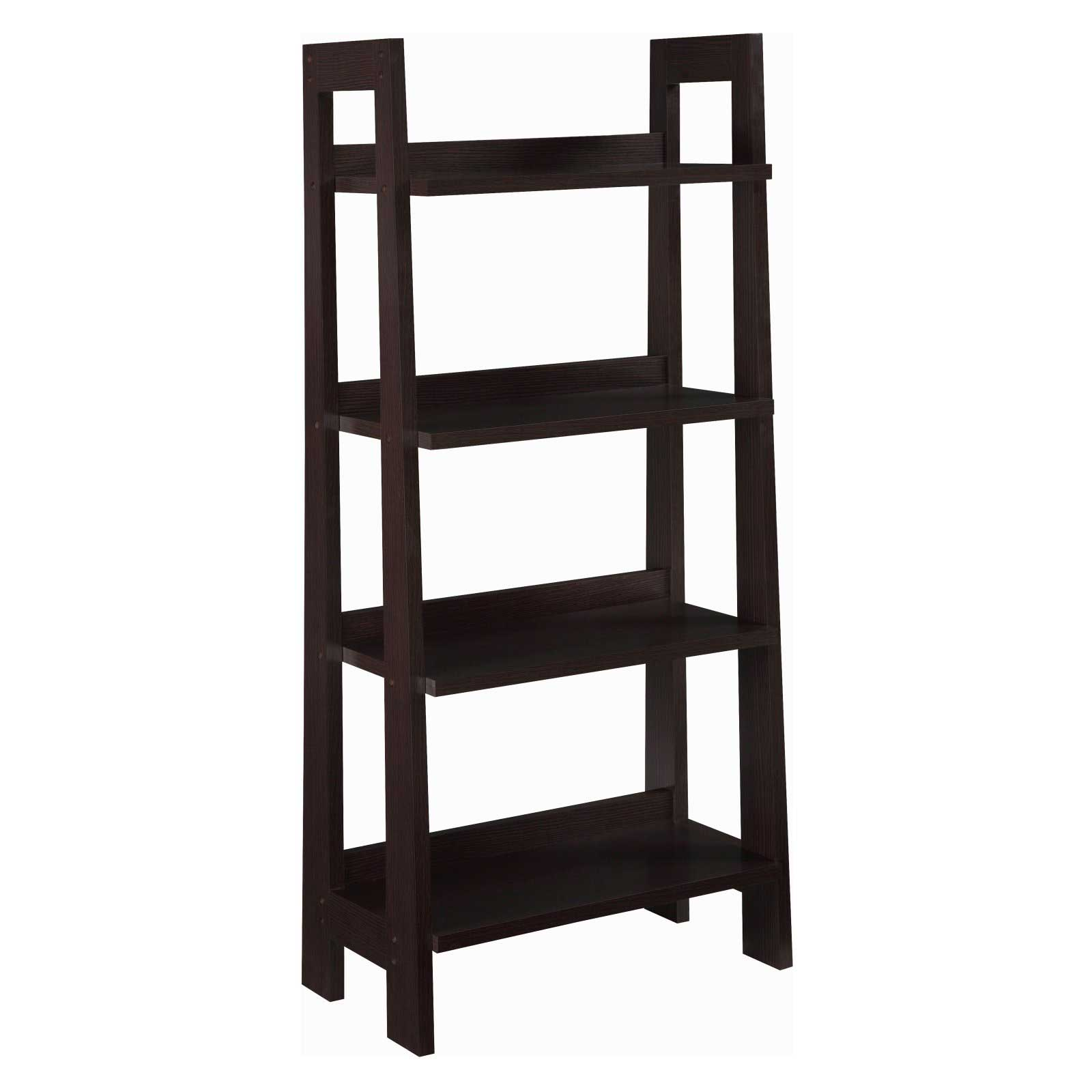Mission folding bookcase as great filing system Folding bookshelf
