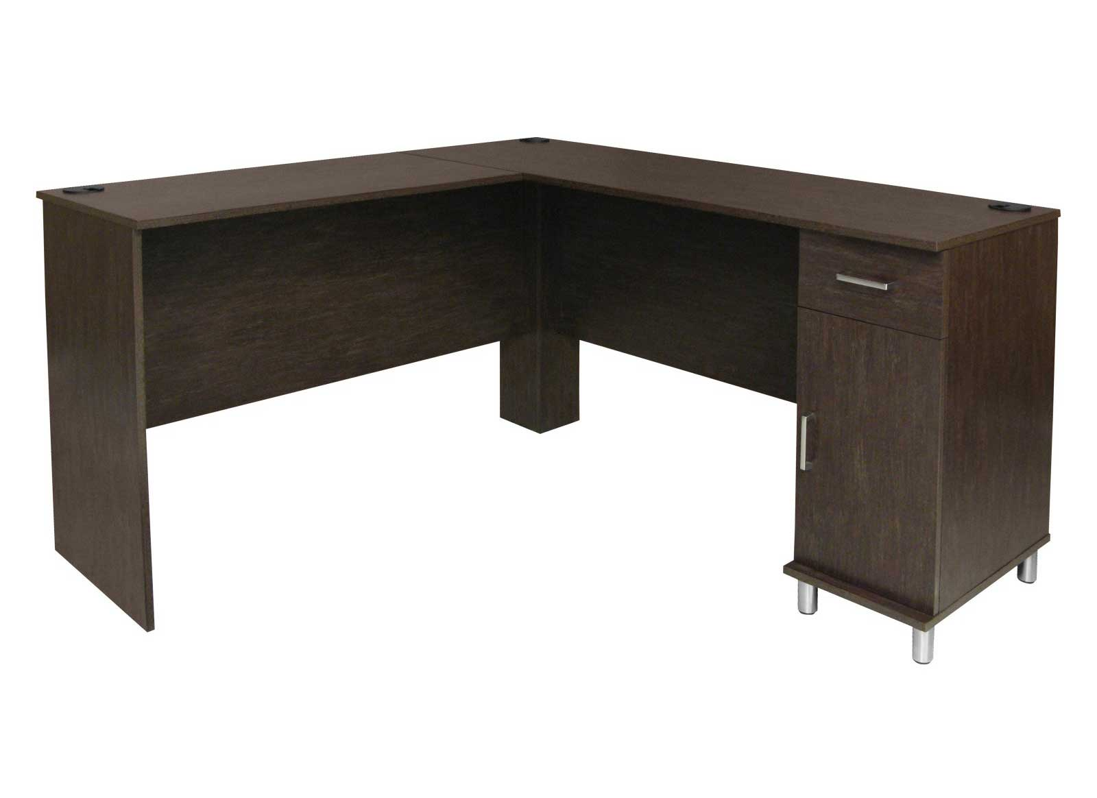Contemporary corner desk to maximize space usage - Corner office desk ...