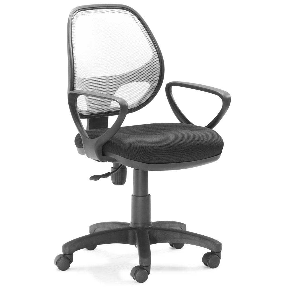 Analog compact rolling office task chair