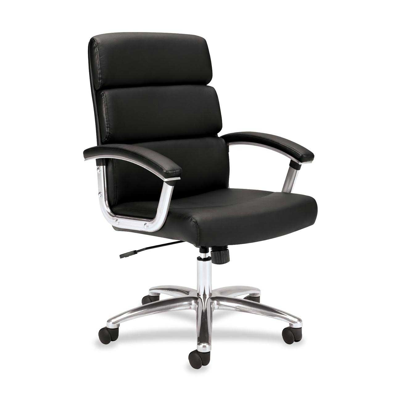 Basyx Black Executive Adjustable Height Chair