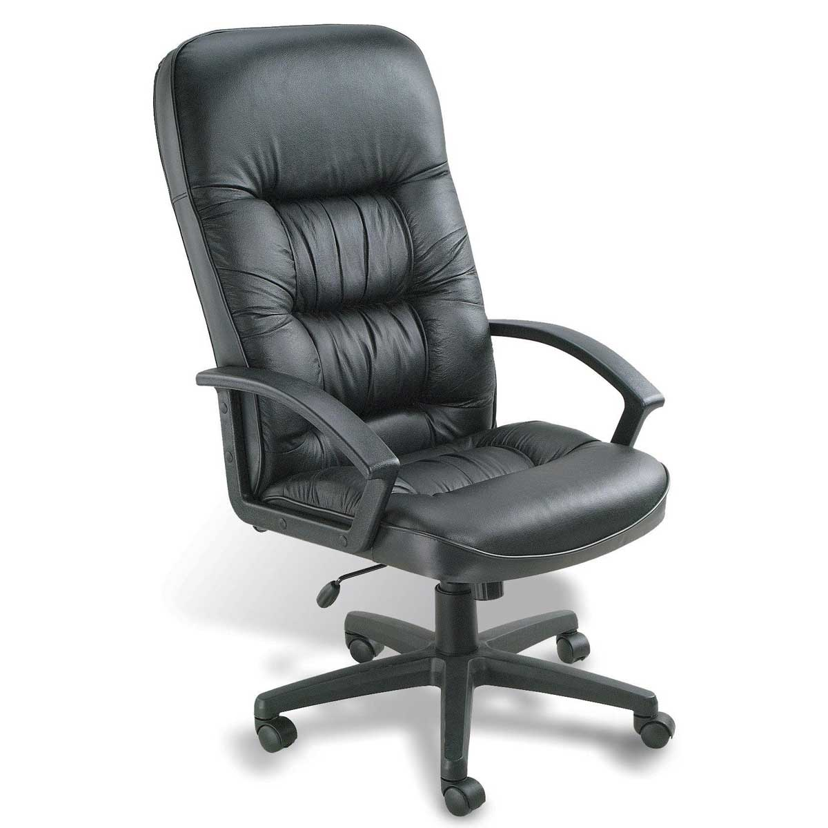 Boss Office Lumbar Support Ergonomic Leather Chair