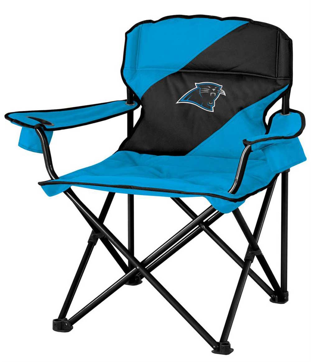 Carolina Panthers Luxury Mammoth Tailgate Folding Arm Chair