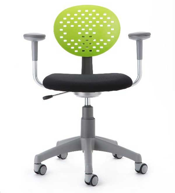 Children office desk chairs with arms