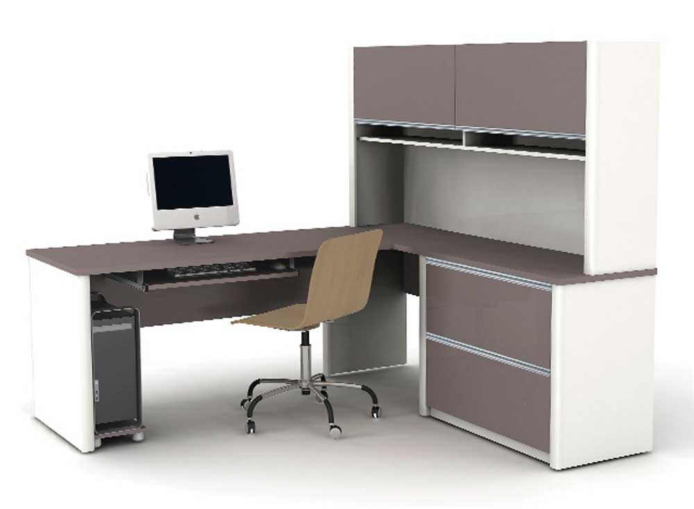 connexion l shaped office work table