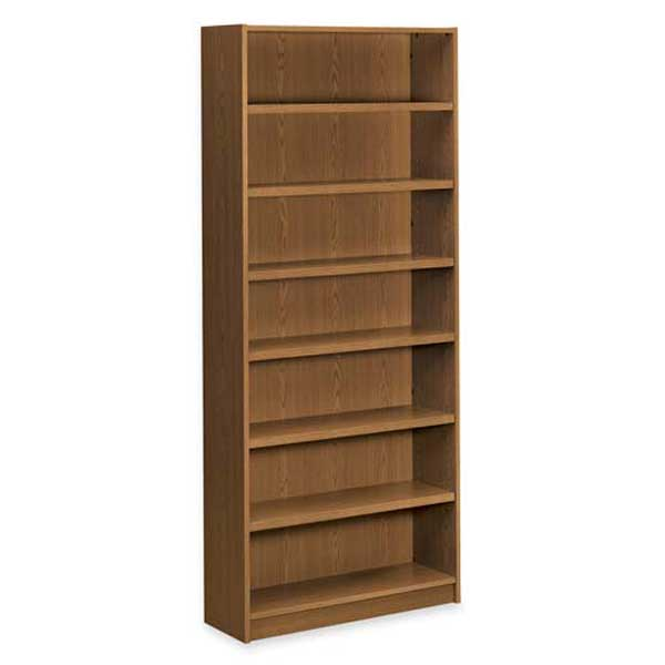 HON 7-Shelf Bookcase in Mahogany