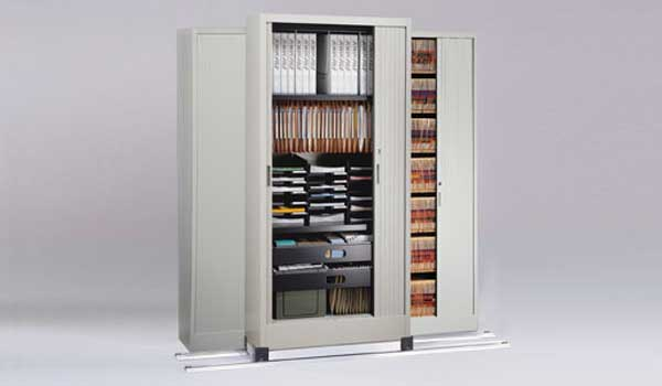 High Density Filing Cabinet with locking systems