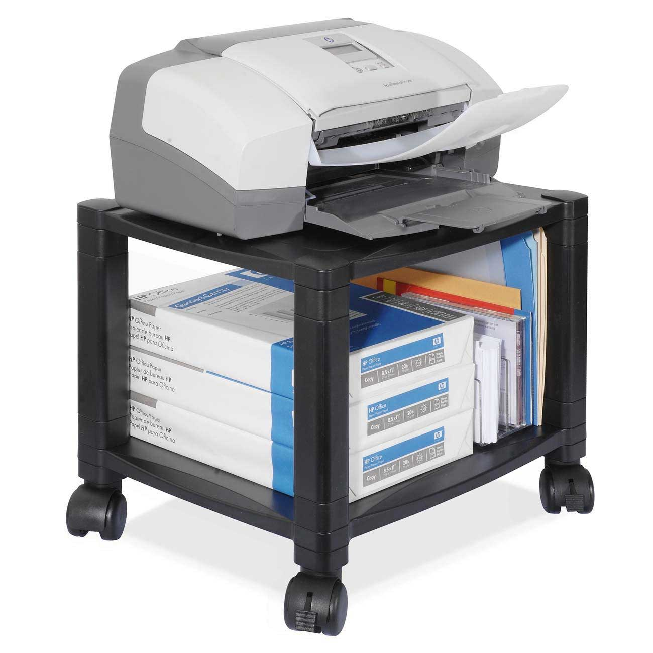 Kantek portable under desk shelf for office