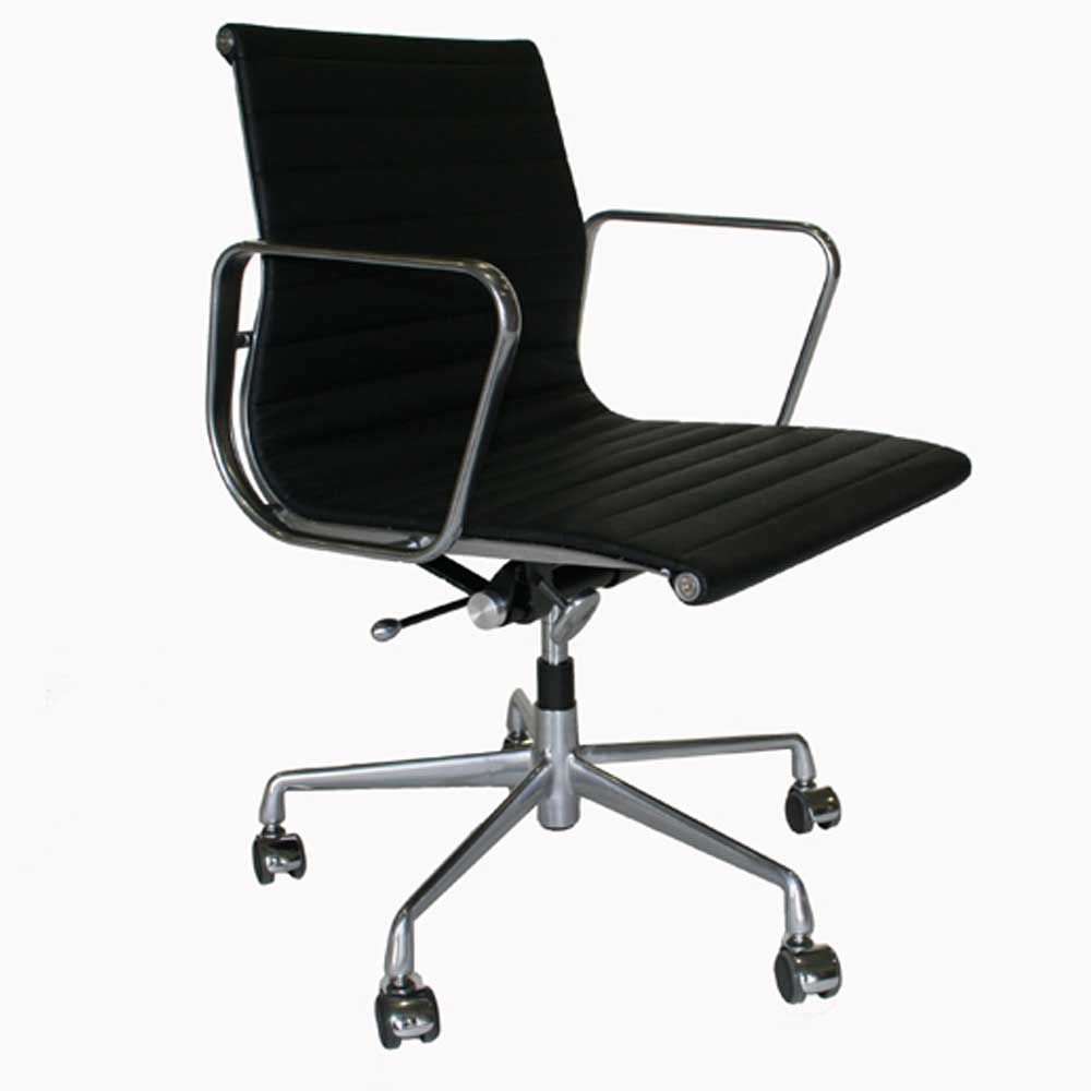 Lyndsey black office chairs wholesale